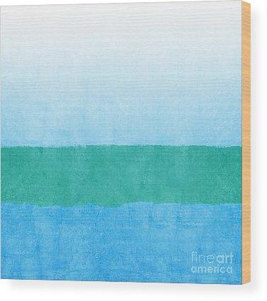Ocean Wood Prints