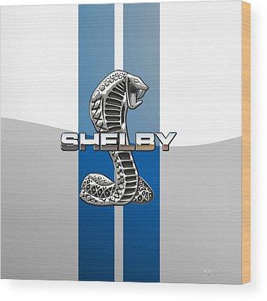 Designs Similar to Shelby Cobra - 3d Badge