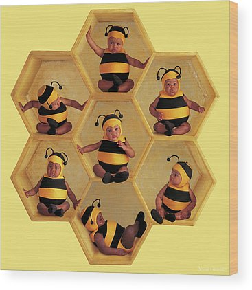 Hive Wood Prints