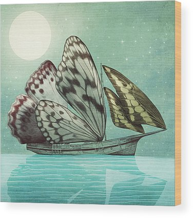 Night Sky Wood Prints
