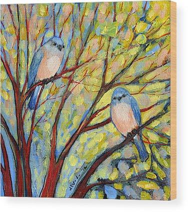 Shrubs Wood Prints