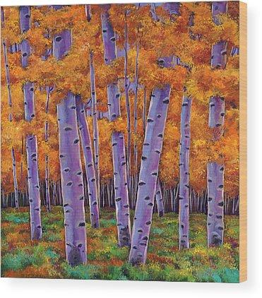 Evergreen Wood Prints