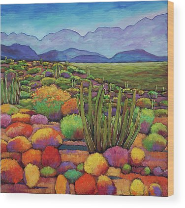 Desert Southwest Wood Prints