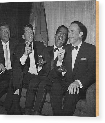 Frank Sinatra Wood Prints
