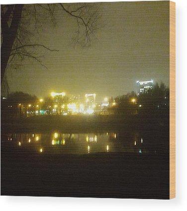Evening Light Wood Prints