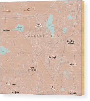 Randolph County Wood Prints