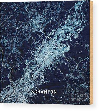 Scranton Wood Prints