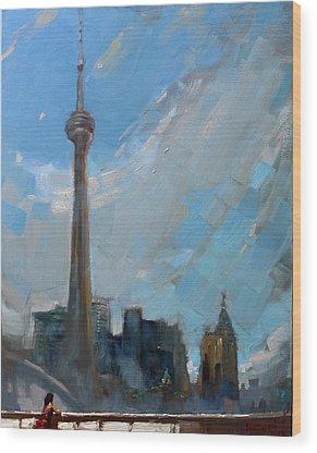 Cn Tower Wood Prints