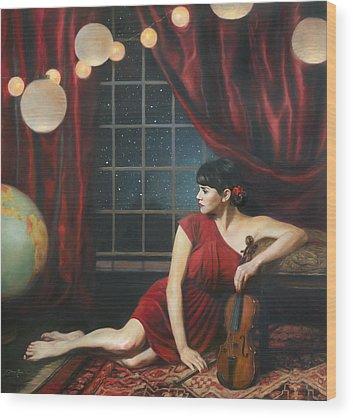 Sphere Wood Prints