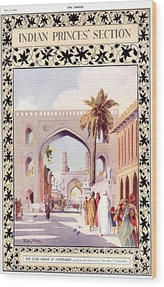 1890s Uk Indian India Empire Wood Print by The Advertising Archives