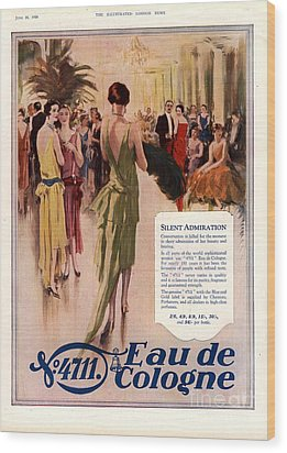 1928 1920s Uk 4711 Eau De Cologne Wood Print by The Advertising Archives