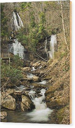 Amacola Falls Wood Print