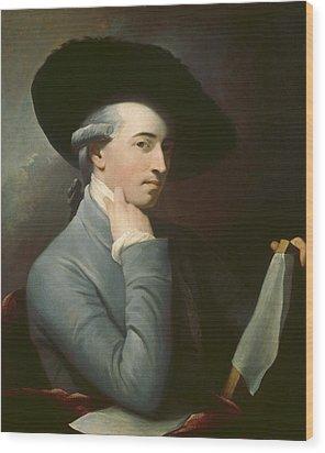 Benjamin West Wood Print by Benjamin West