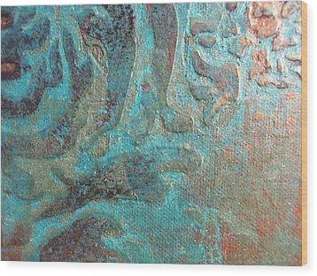Birth Wood Print