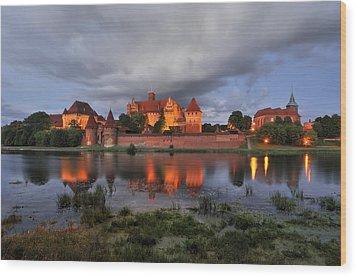 Castle Wood Print by Jan Sieminski
