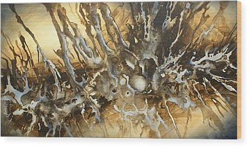 ' Concept' Wood Print by Michael Lang