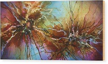 ' Evolution ' Wood Print by Michael Lang