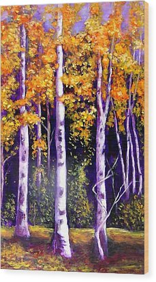 Fall In The Eastern Townships  Quebec Wood Print