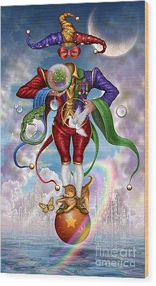 Fool Of Dreams Wood Print by Ciro Marchetti