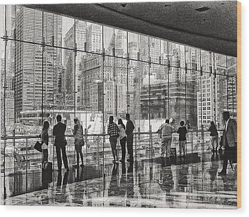 Ground Zero Wood Print by Wayne Gill