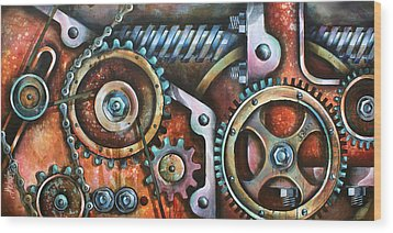 ' Harmony 8' Wood Print by Michael Lang