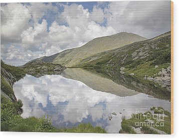 Lakes Of The Clouds - Mount Washington New Hampshire Wood Print