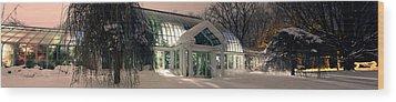 Lamberton Conservatory Wood Print