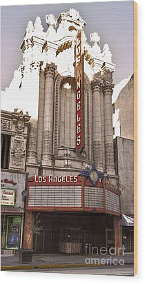 Los Angeles Theater Wood Print by Gregory Dyer