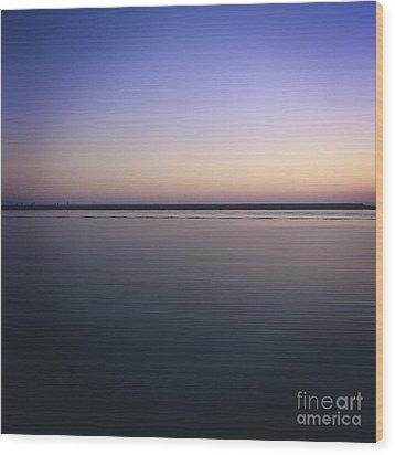 Mediterranean Sea. Provence. France Wood Print by Bernard Jaubert