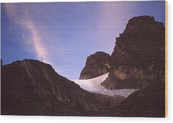 Mountains Of The Moon Africa 1997 Wood Print by Rolf Ashby
