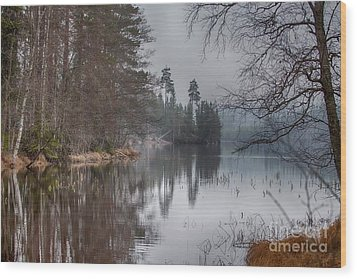 Wood Print featuring the photograph  One Solemn Spring In May by Rose-Maries Pictures