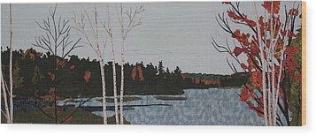 Peace  Wood Print by Anita Jacques