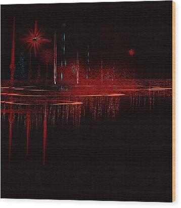Penman Original - Untitled 79 Wood Print by Andrew Penman