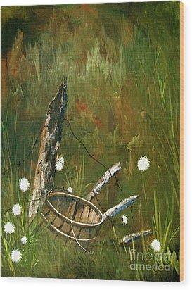 Renewed Wood Print by Sharon Burger