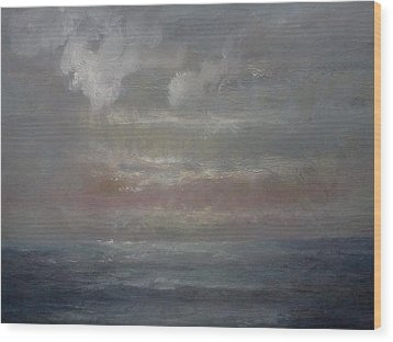 Seascape 1 Wood Print