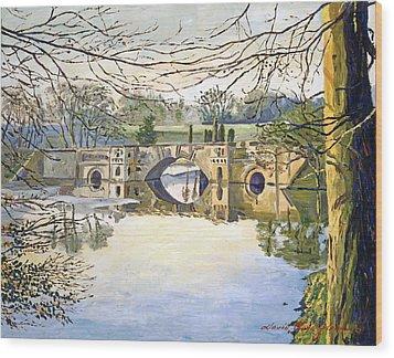 Stone Bridge Wood Print by David Lloyd Glover