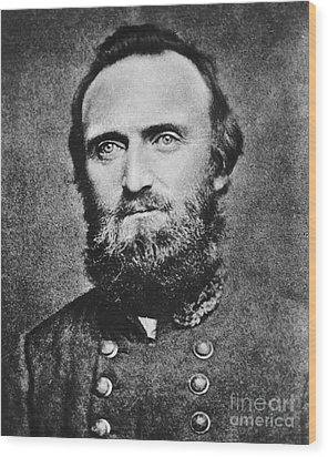 Stonewall Jackson Wood Print by Anonymous