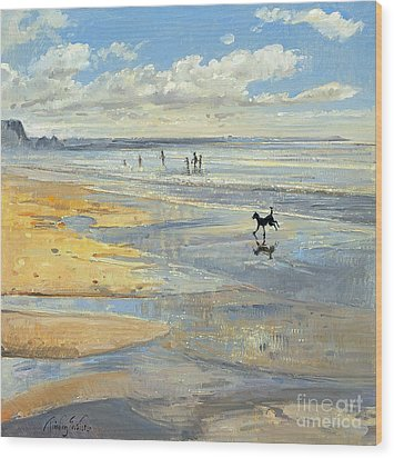 The Little Acrobat  Wood Print by Timothy  Easton