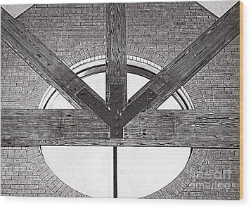 Trinity Series 1 Wood Print by Luther Fine Art