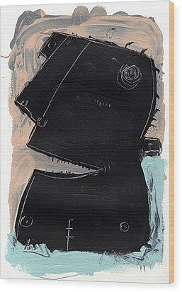 Umbra No. 4 Wood Print by Mark M  Mellon