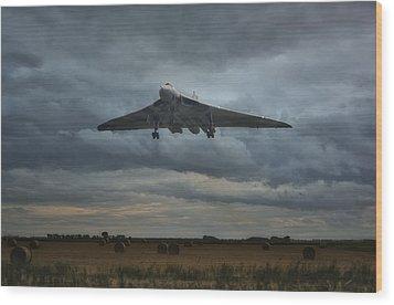 Vulcan Bomber Wood Print