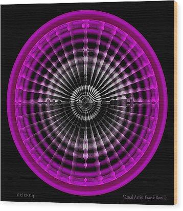 #01212014 Wood Print by Visual Artist  Frank Bonilla