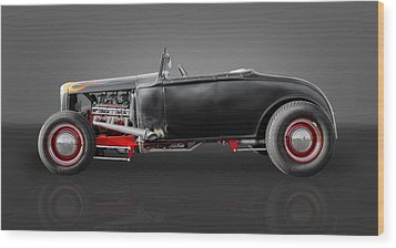 1930 Ford Street Rod Wood Print