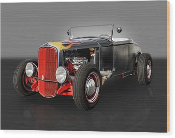 1930 Ford Roadster Wood Print