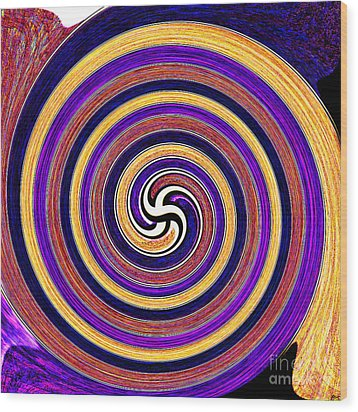 0175 Abstract Thought Wood Print by Chowdary V Arikatla