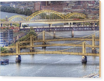 0307 Pittsburgh 8 Wood Print by Steve Sturgill