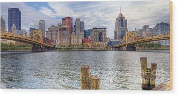 0311 Pittsburgh 1 Wood Print by Steve Sturgill