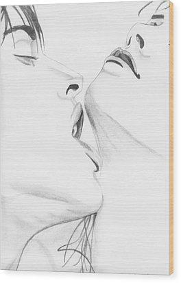 054 Wood Print