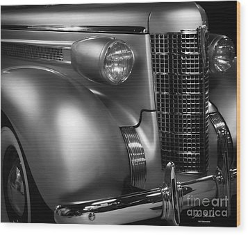 1937 Oldsmobile Wood Print by JRP Photography