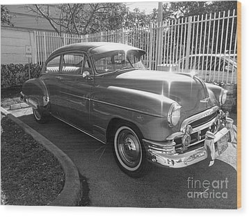 1949 Chevy Wood Print by Andres LaBrada